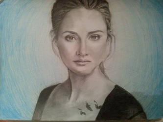 Shailene Woodley by KatherinaRosalieRS