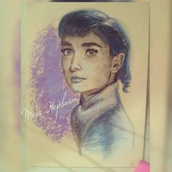 Miss Hepburn by KatherinaRosalieRS