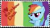 rainbow dash stamp by tunouno