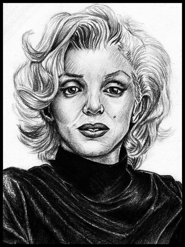 Marilyn Monroe by iAdamski