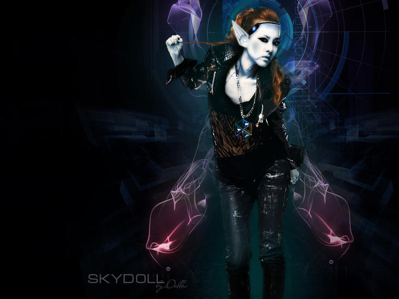 Sky Doll Daron Wallpaper By Xdallas On Deviantart