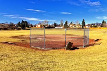 Baseball Diamond and Large Field
