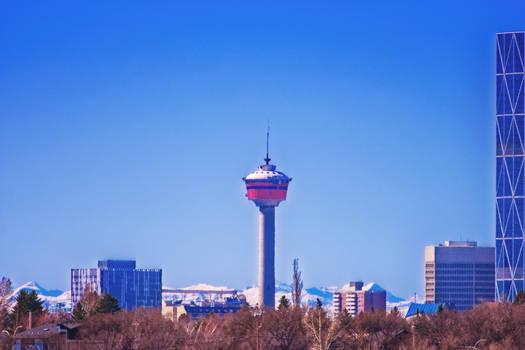 Calgary Tower Vista Heights HIll