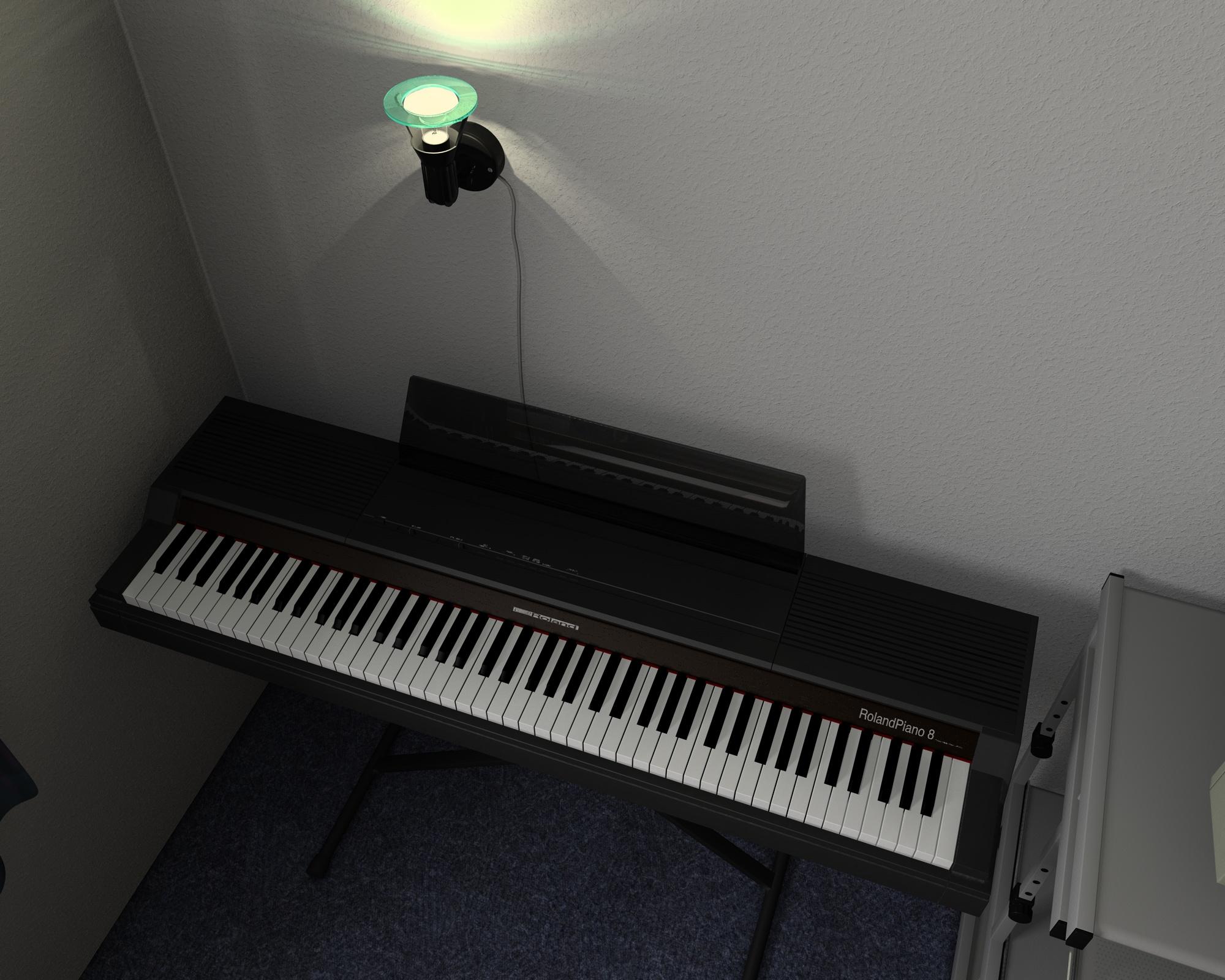 Roland HP-800 - Interior Scene by Yakul