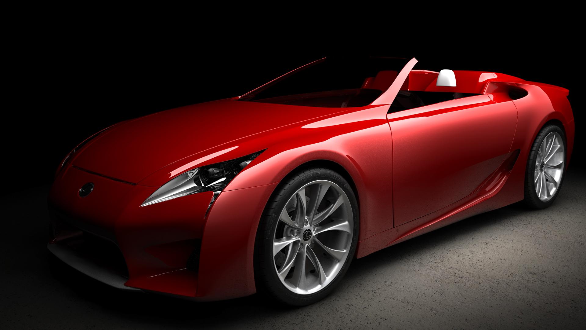 Lexus LF-A Roadster - WiP by Yakul