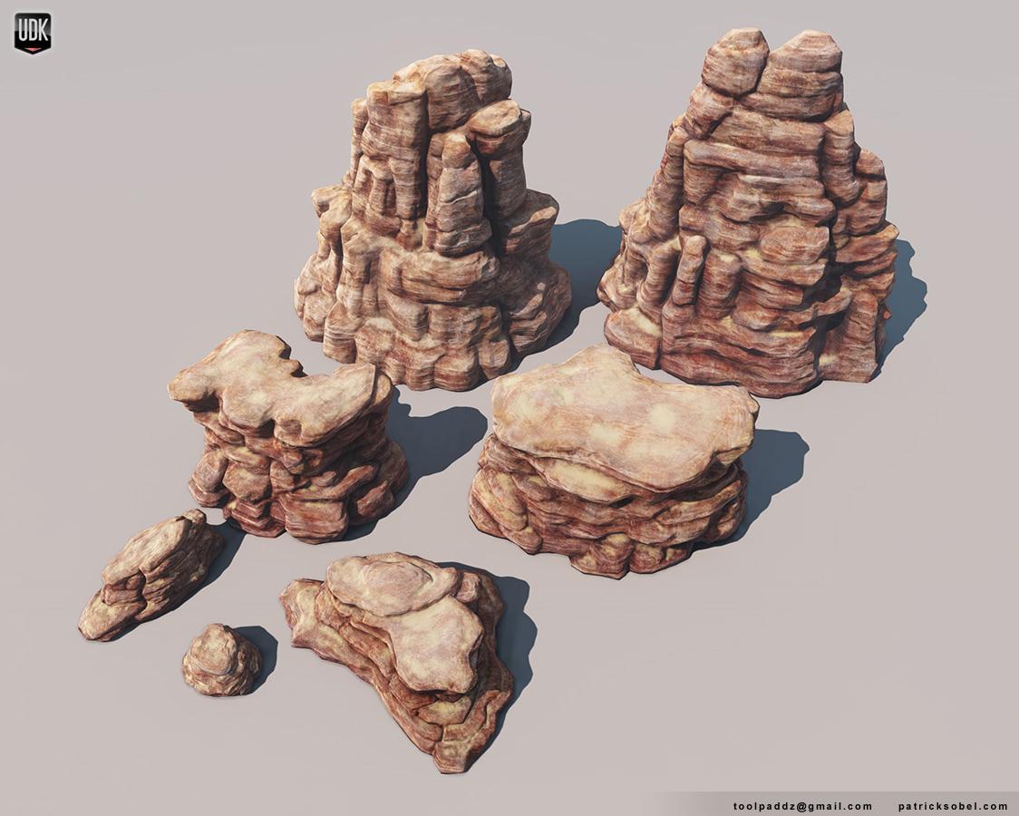 Canyon Rock Modules by Yakul