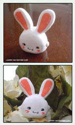FIMO Bunny by lynart