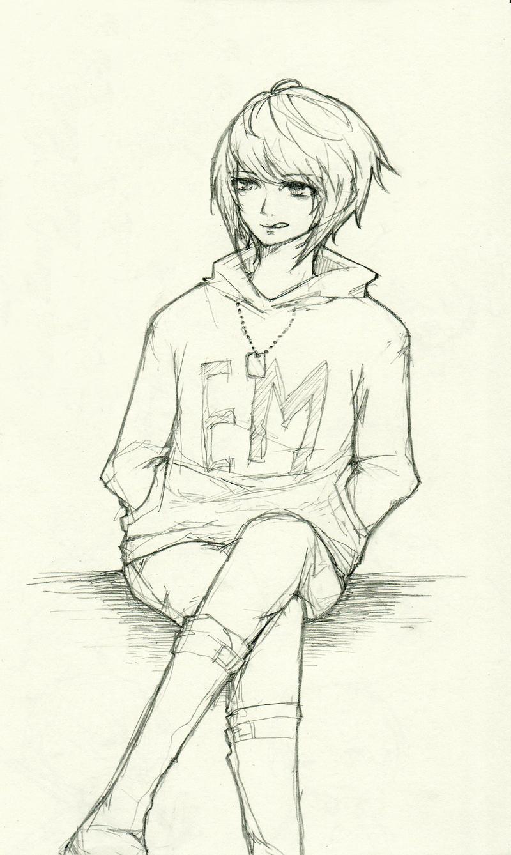 Sketch : Yuki by sawa-rint