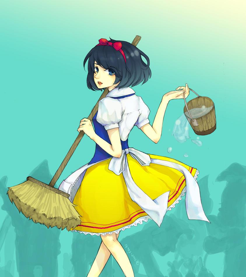 SnowWhite-chan by sawa-rint