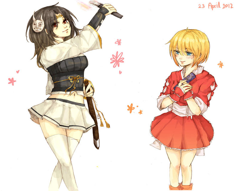 Girls by sawa-rint