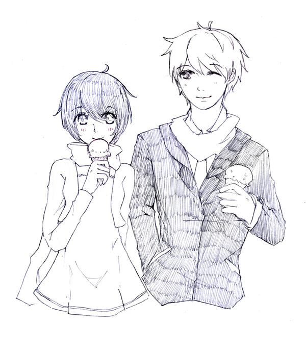 Request : Kaiko-and-Gilbert by sawa-rint
