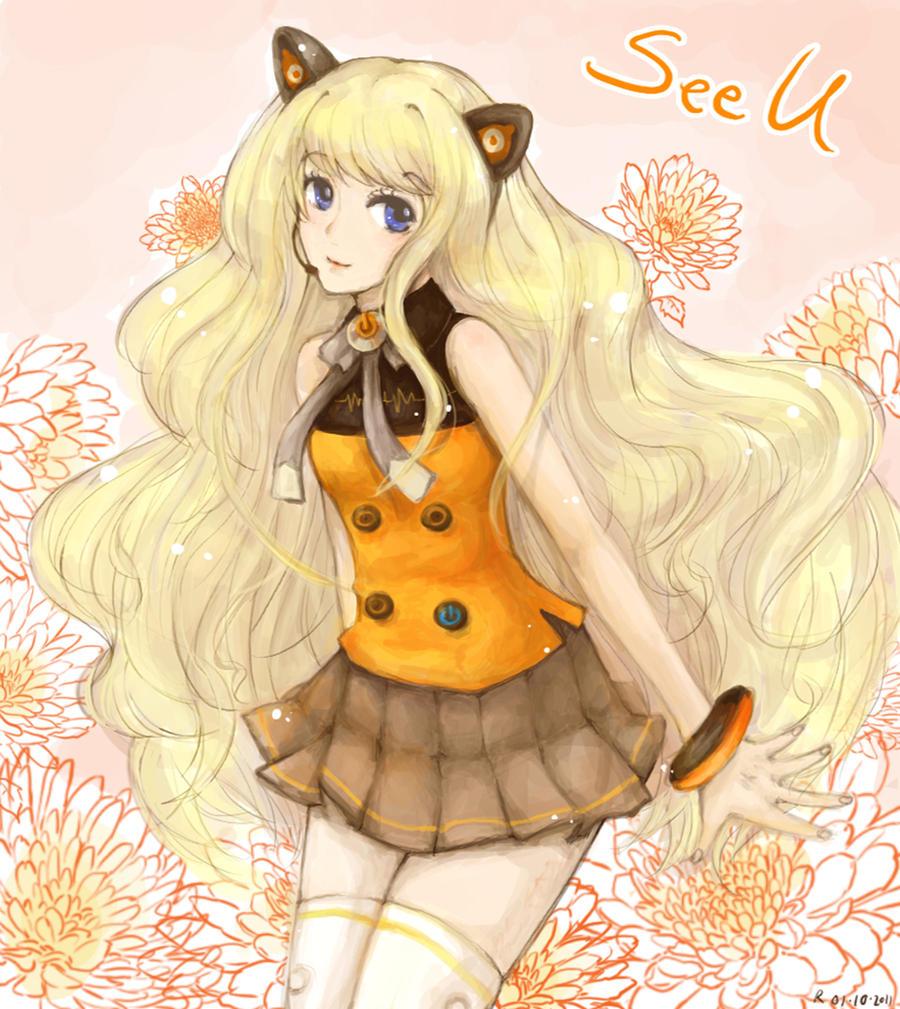 Vocaloid : SeeU by sawa-rint