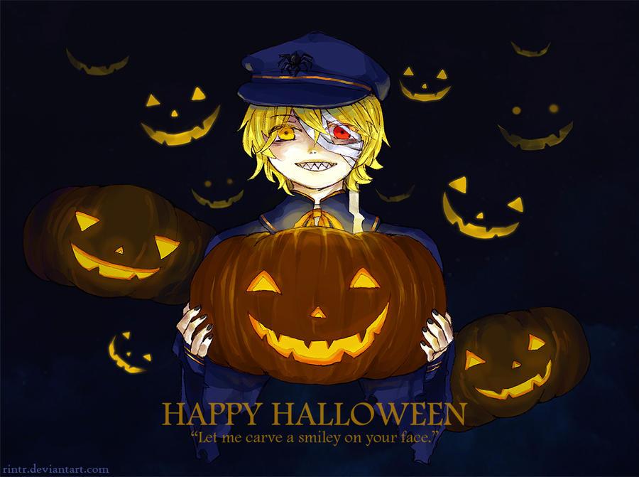 Happy Halloween by sawa-rint
