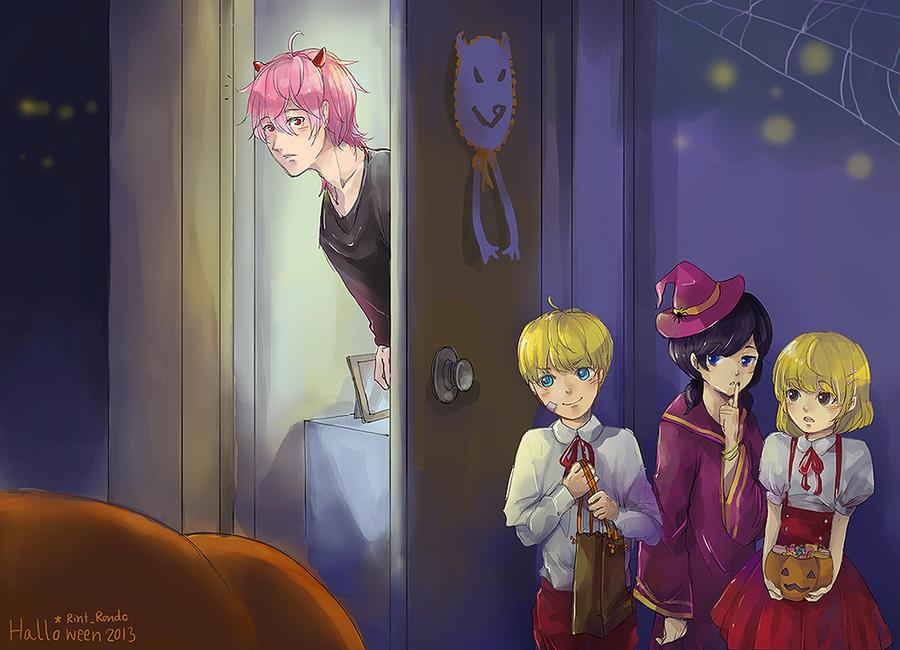 Happy Halloween 2013 by sawa-rint