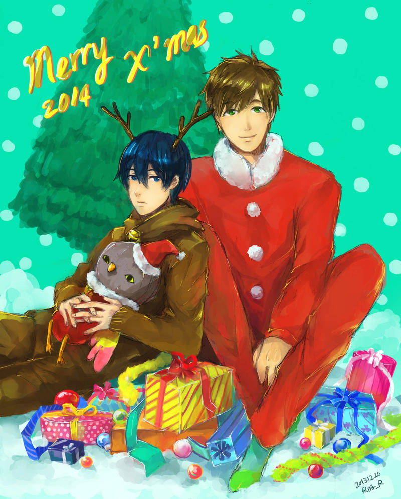 Free! Secret Santa by sawa-rint