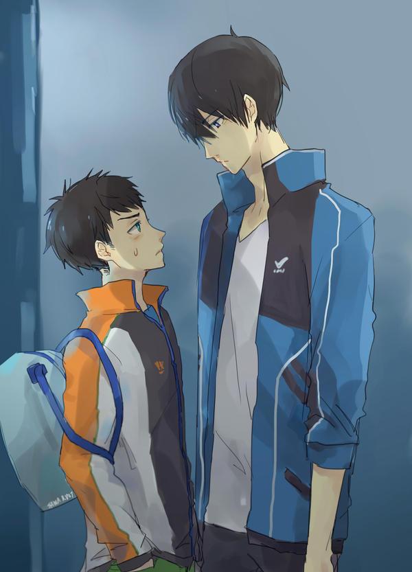 Sousuke-kun and Haru-nii by sawa-rint