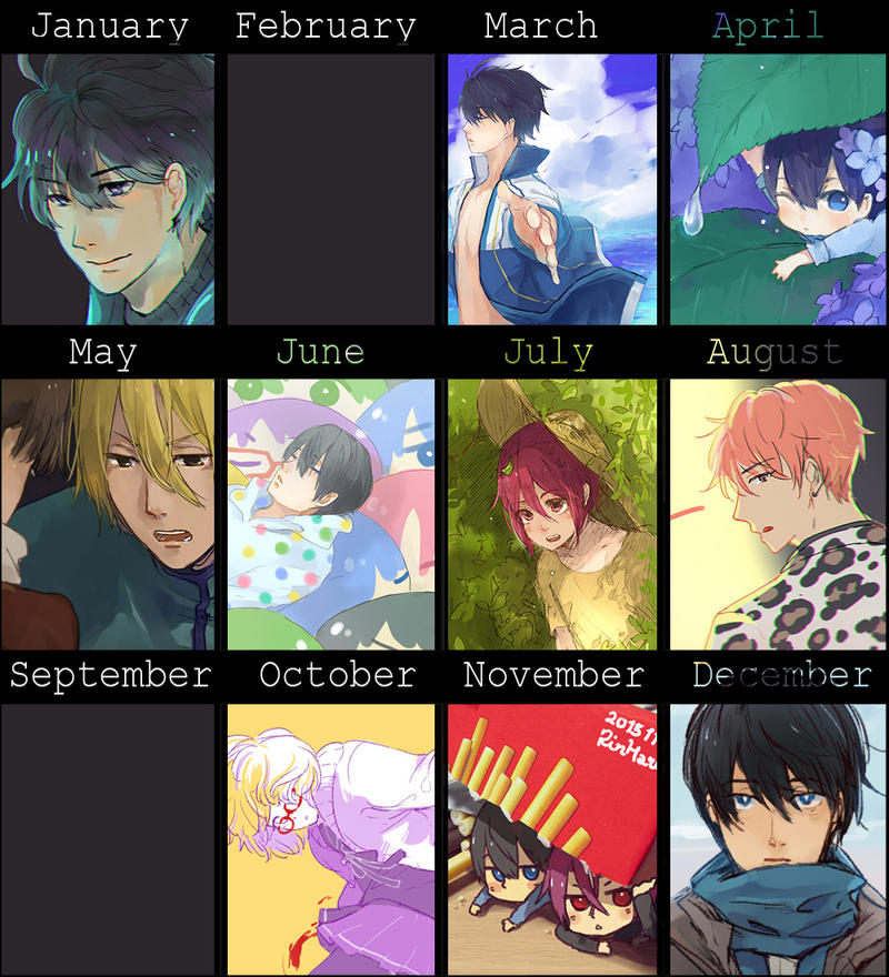 2015 Summary of art by sawa-rint