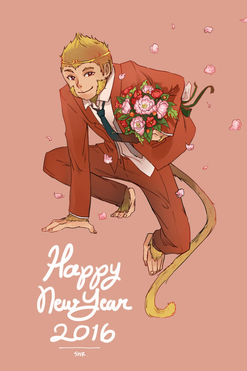 Happy New Year 2016 by sawa-rint