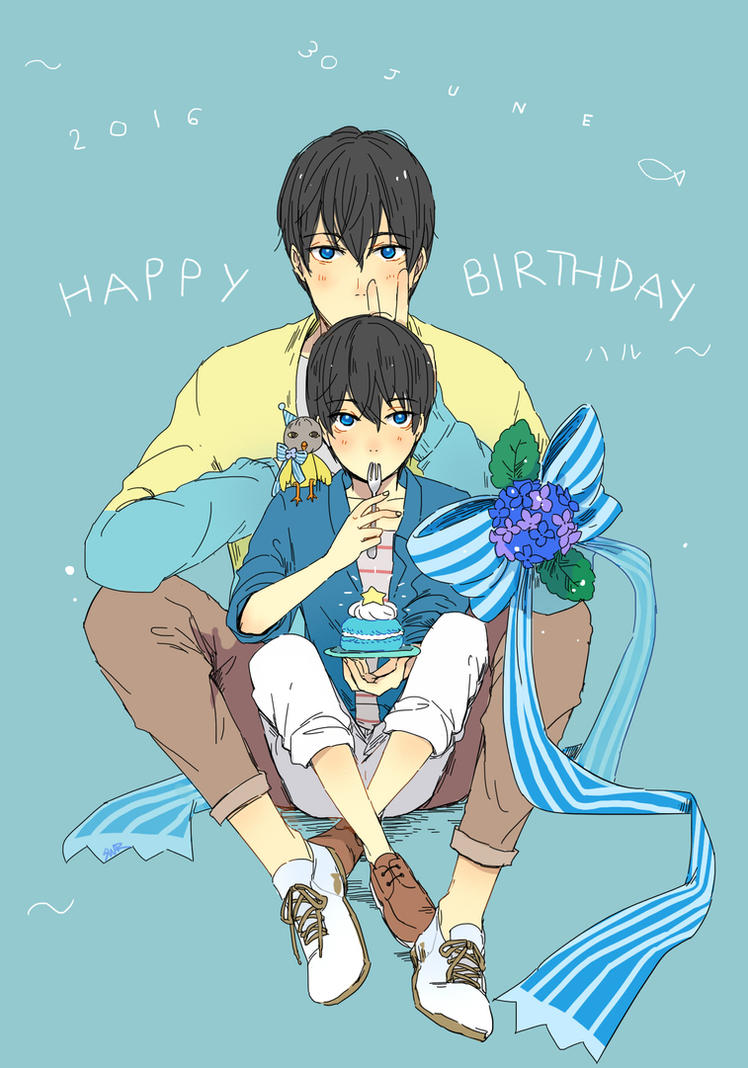 Happy Birthday Haru! by sawa-rint