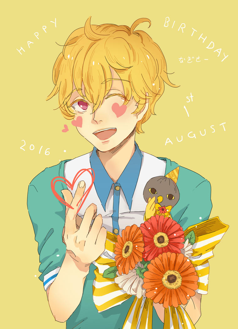 Happy Birthday Nagisa! by sawa-rint