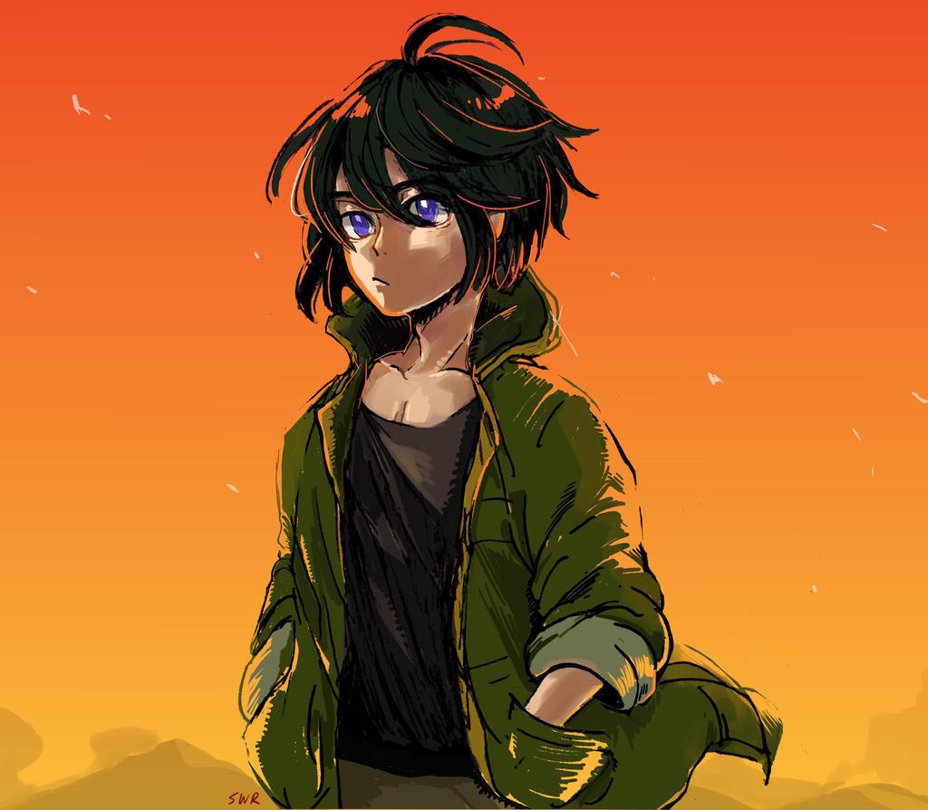 Orange Sky by sawa-rint