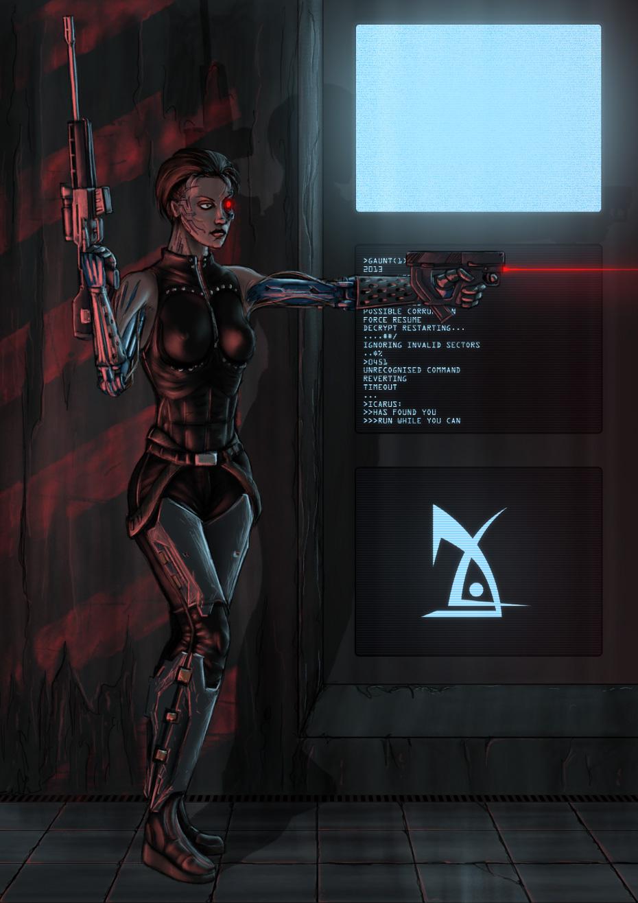 Agent Navarre by GauntOne