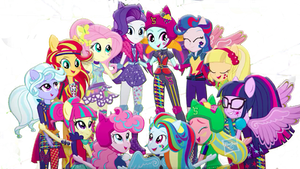 Equestria Girls Frienship Games PNG