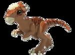 Lego Jurassic World Stygimoloch Render 1