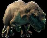 Jurassic World Camp Cretaceous Cerato Render 1