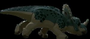 Lego Jurassic World Sinoceratops Render 2