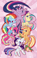 Rainbow Power! by Pixel-Prism