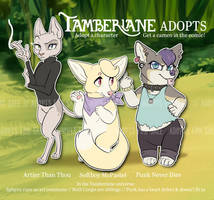[CLOSED] Tamberlane Adopts - ADOPT AUCTION