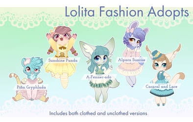 [CLOSED] - Adopt Auction - Lolita Fashion Adopts