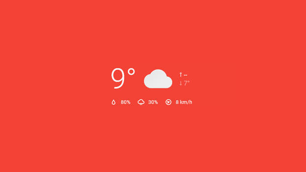 JDWS-03 Rainmeter Weather Skin