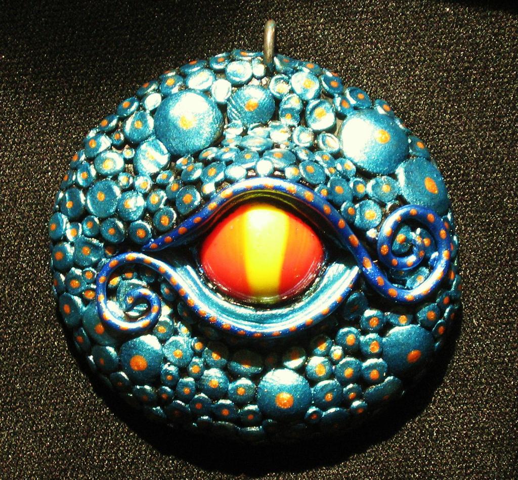 Dragon Eye Pendant by GabriellesBabrielles