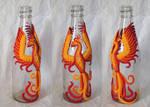 Phoenix on a bottle