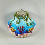 Decorated Seashell