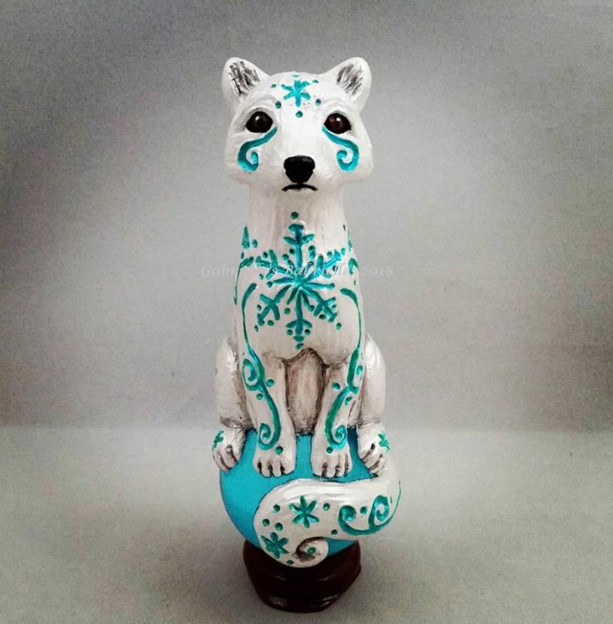 Arctic Fox Spirit by GabriellesBabrielles on DeviantArt