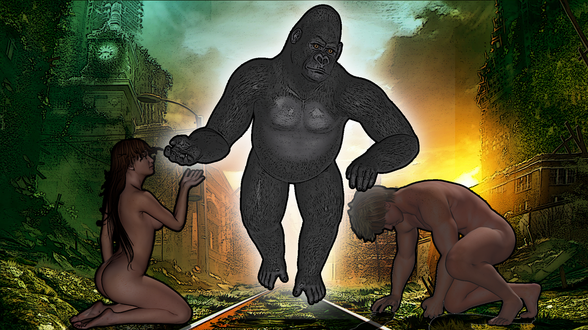 Planet of the Apes - Descent of Saint Tonga by Kiel-Basastrony