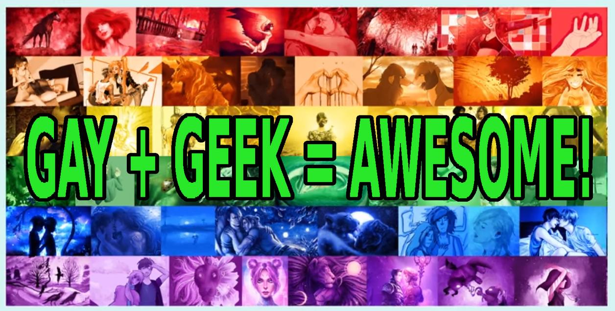 Gay plus Geek by Kiel-Basastrony