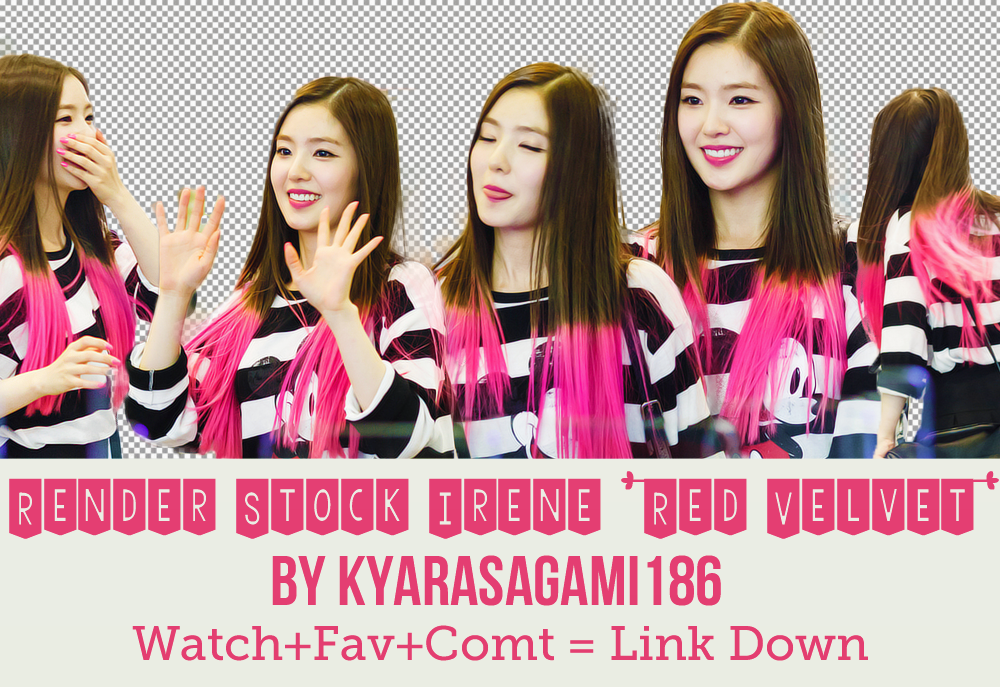 Pack Render/PNG + Stock Irene (Red Velvet) by Kyra by KyaraSagami186