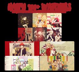 [Pack PSDs] Happy 900+ watchers by KyaraSagami186 by KyaraSagami186