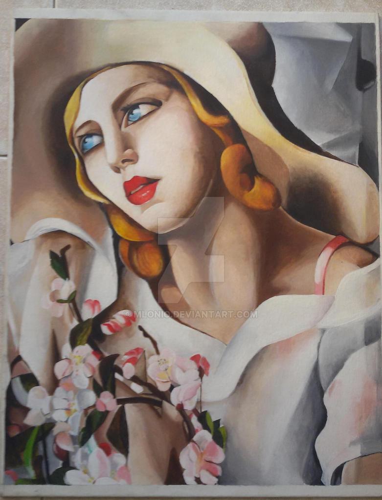 riproduzione di quadro di Tamara de Lempicka by Mlonio