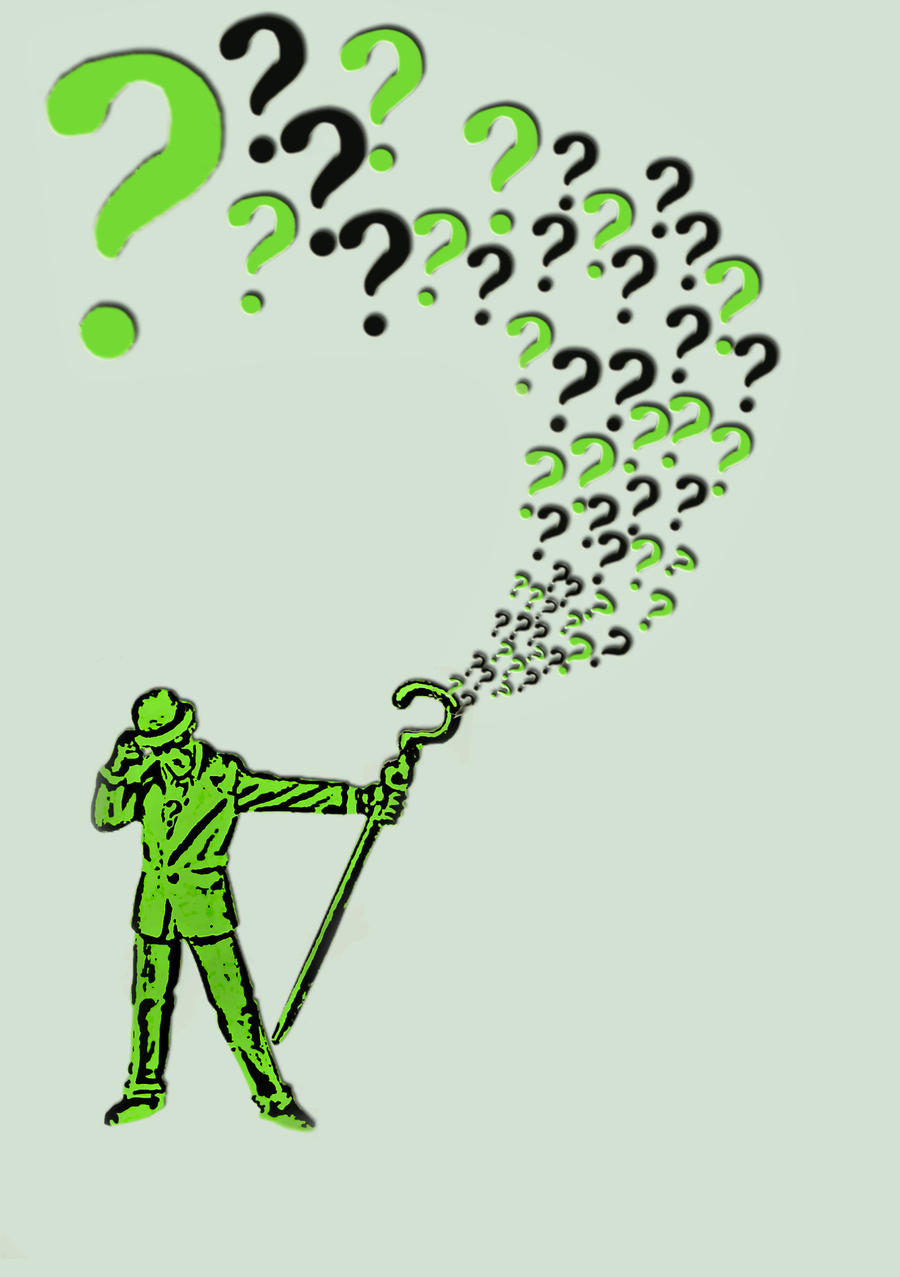 Riddler Question Mark Logo