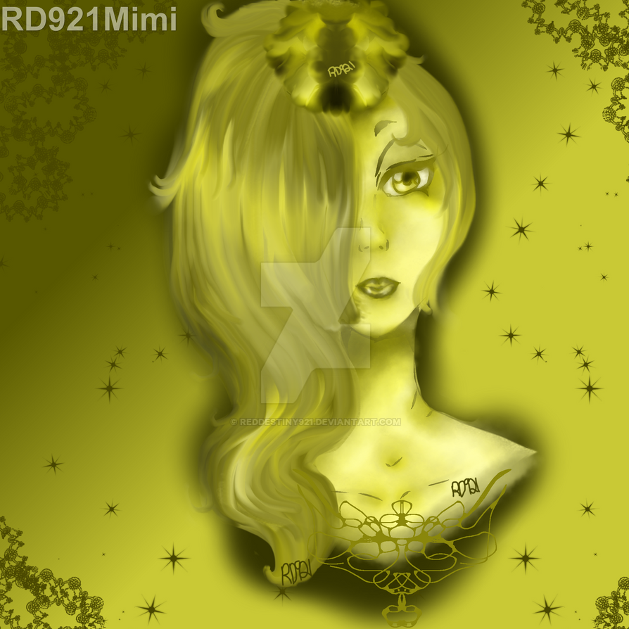 Lady yellow by RedDestiny921