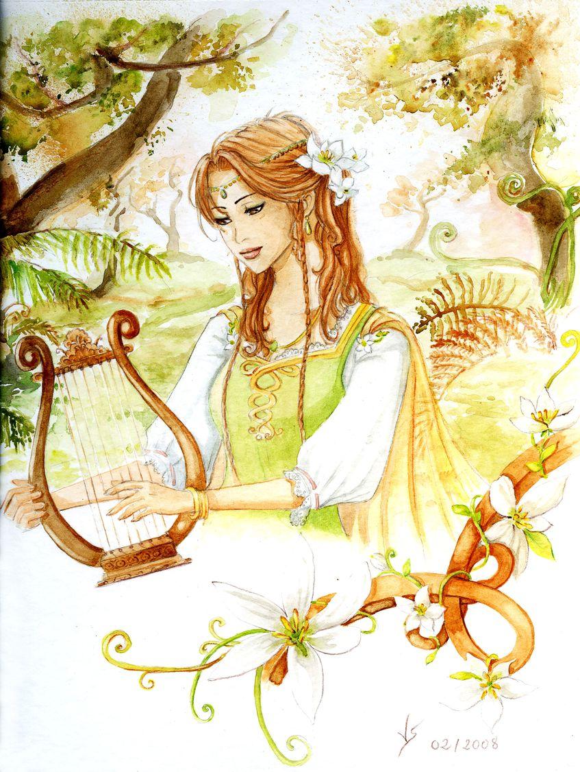 Lyre by Vassantha