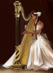 Heaven Harp by Vassantha