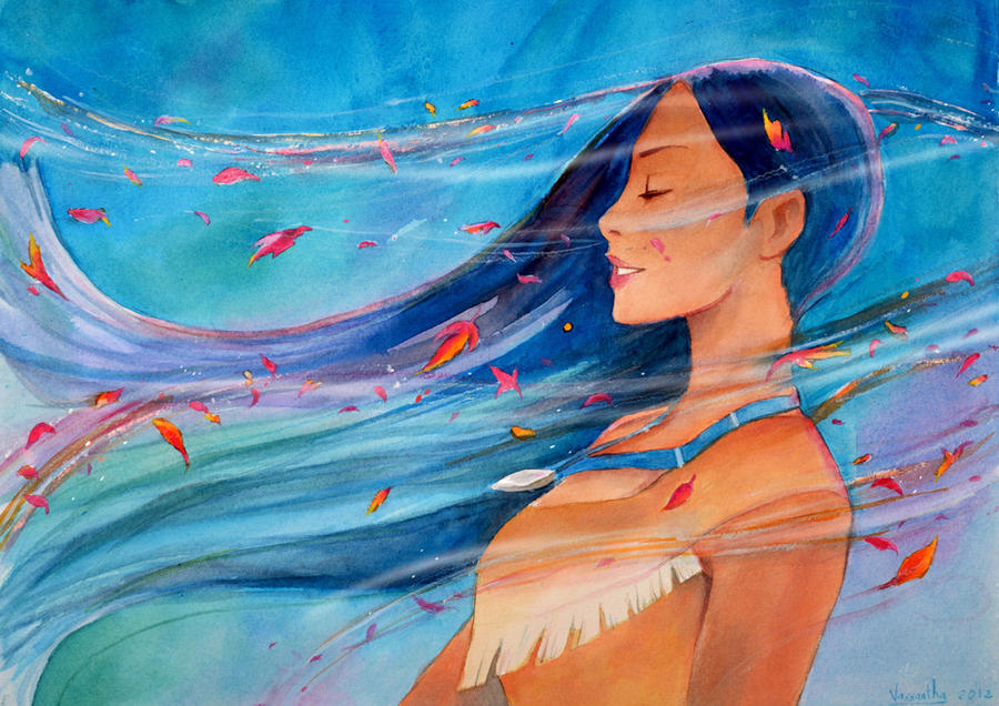 Pocahontas - Colours of the Wind by Vassantha