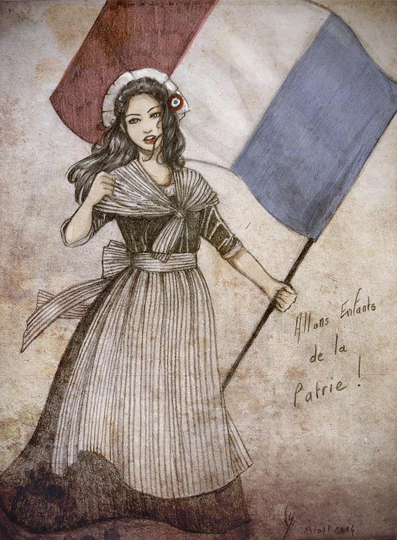 Allons Enfants de la Patrie ! by Vassantha