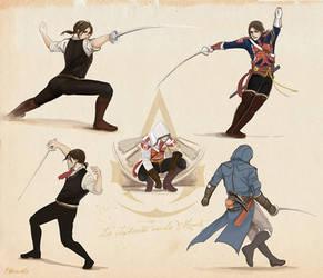 AC Unity fencing sketch